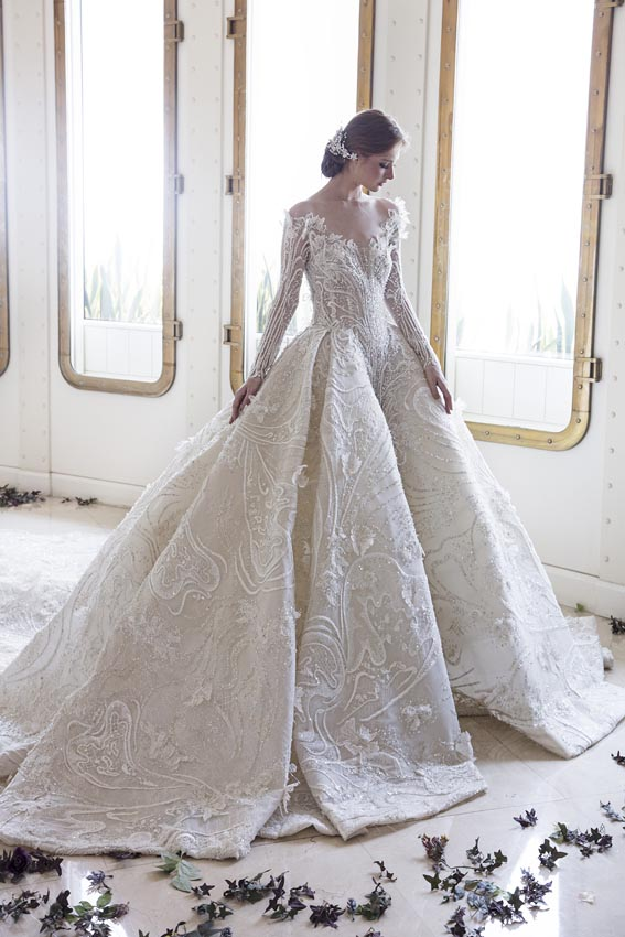 Ziad Nakad Bridal 2017 2018 Collection – The Way A Dream Comes True