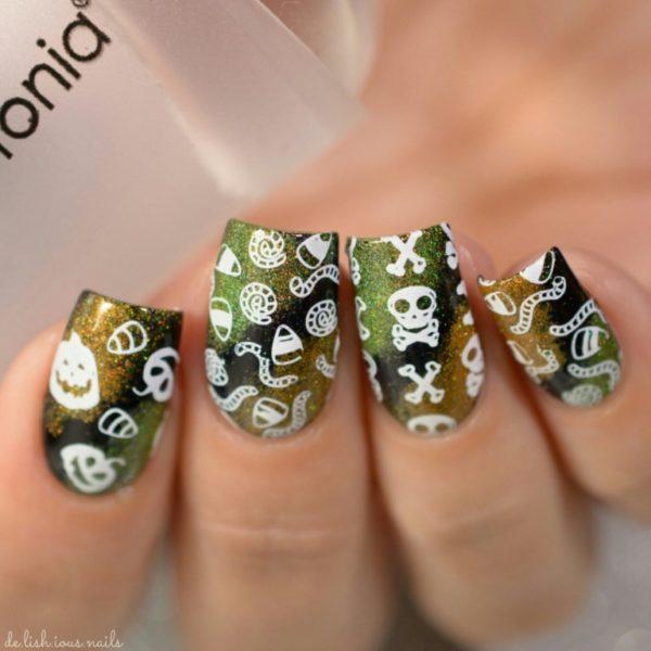 Creative Way To Celebrate Halloween  Halloween Inspired Nails Art Design