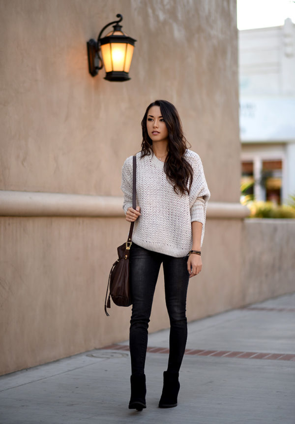 The Best Ways Combination Sweater For A Perfect Autumn Look