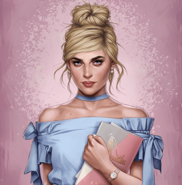 Illustration: How would the Disney's princesses look like if they lived in 2017