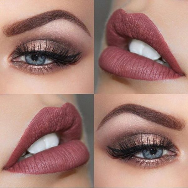 Gorgeous Makeup Ideas To Shine On The New Year Evening