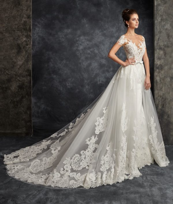 Feel the love magic with the most elegant wedding gowns from Ira Koval's 2017 collection