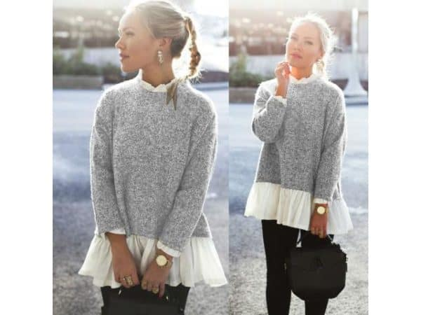 Cozy Oversized Knitted Sweaters  For Perfect Winter Outfits
