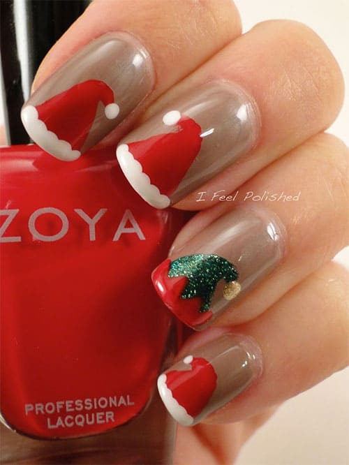Christmas Inspired Nail Arts, To Celebrate The Holidays At The Best Way Possible, We All Have To Try