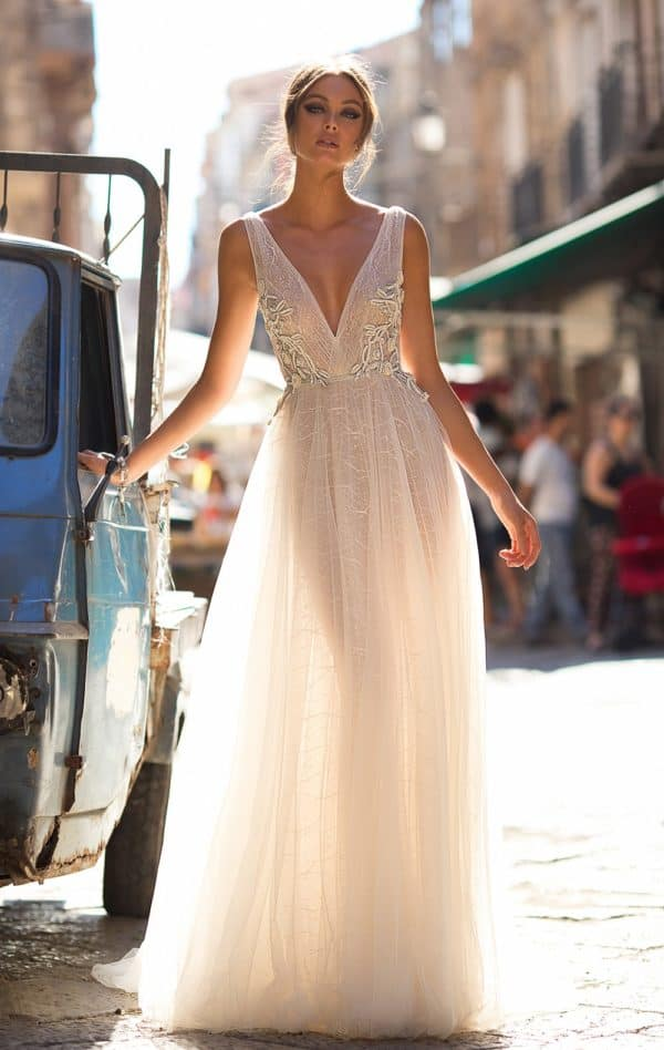 Feel The Magic Of Sicilian Culture Through The Newest Muse By Berta Fall 2018 Bridal Collection