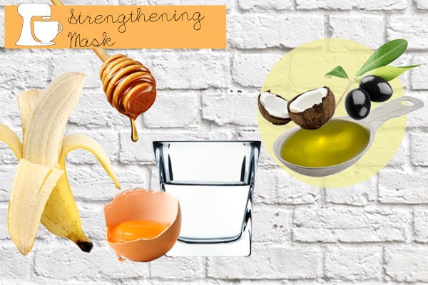 Homemade Strengthening Hair Mask Recipes That Are Easy To Make