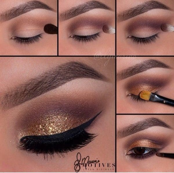 Gorgeous Step By Step Makeup Tutorials That Will Make You Shine For The Holidays