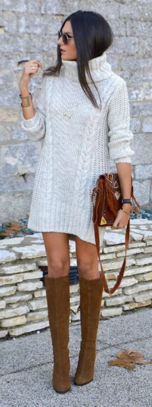 How To Style A Knit Dress To Look Chic
