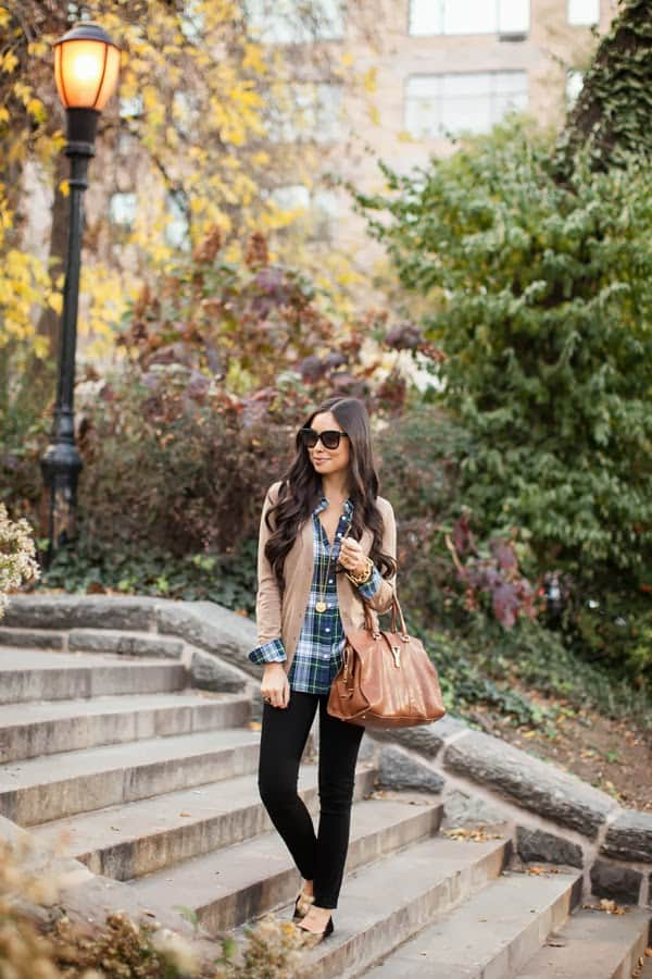 Statement Making Outfits With Plaid Shirt