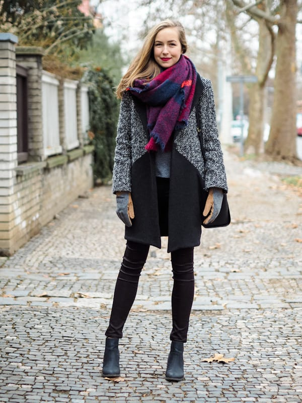 How To Wear Your Blanket Scarf This Winter In Some Stylish Ways