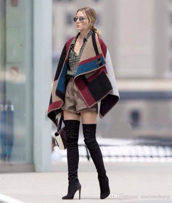 How To Wear Over The Knee Boots This Fall/Winter