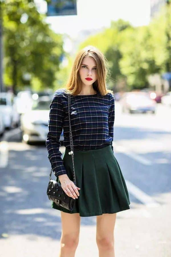How To Style Your Skirt During The Fall Months