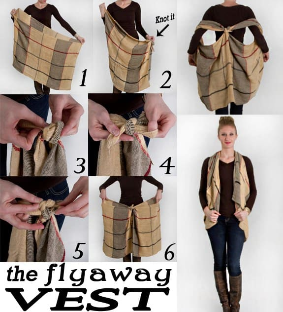 How To Tie A Scarf In Lots Of Different Ways
