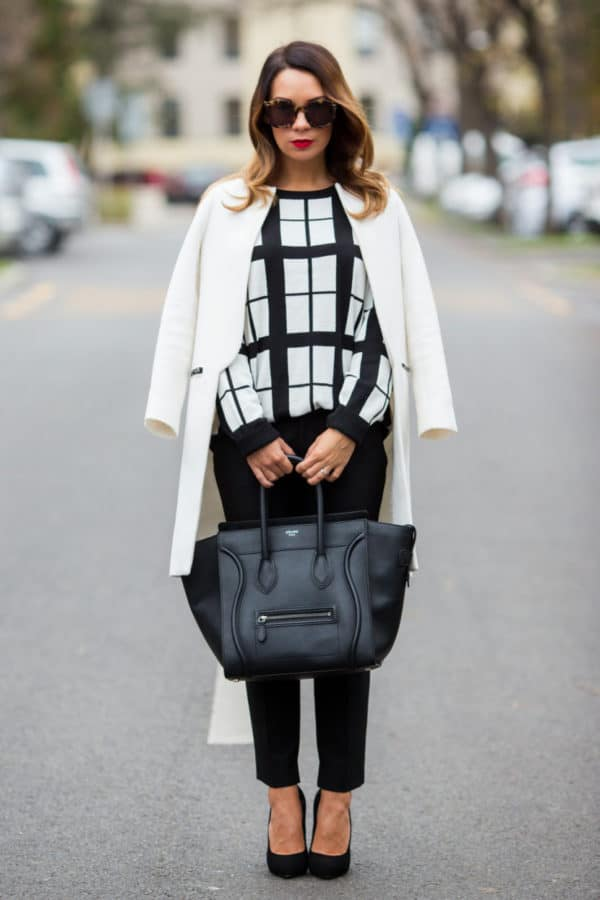 White Coat Outfits To Stand Out Of The Crowd This Winter