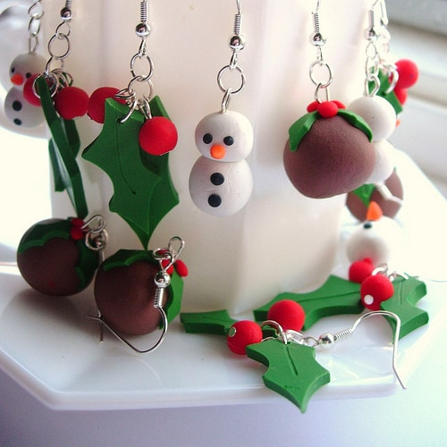 Creative DIY Christmas Earrings Tutorials To Completely