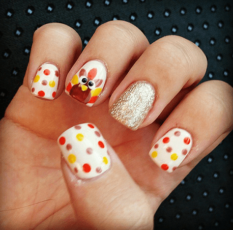 The Most Creative Nails Art Designs Inspired By The Magic Of Thanksgiving Day Celebration