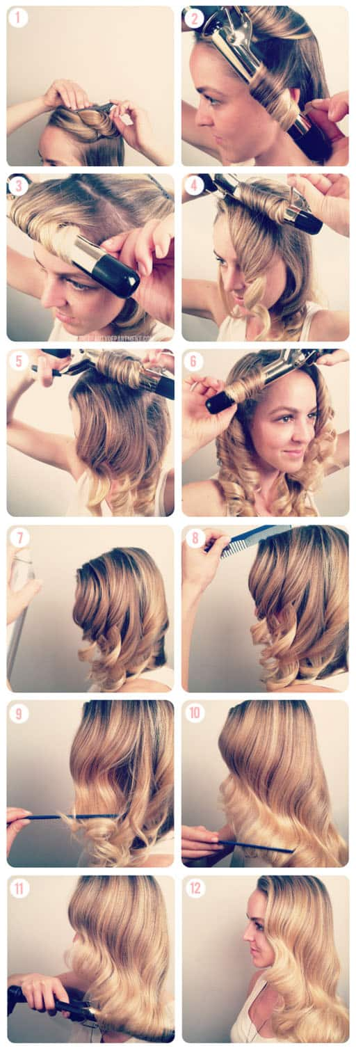 The Best Christmas Hairstyle To Look As A Star On The Christmas Celebration Party