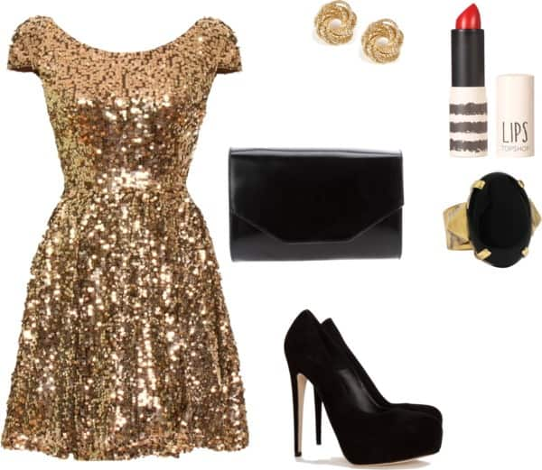 Sparkling New Year Polyvore Combinations That Will Make You Shine