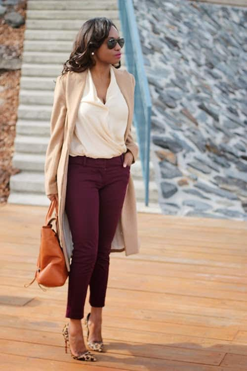 Five Color Combinations To Style Burgundy With This Fall/Winter Season
