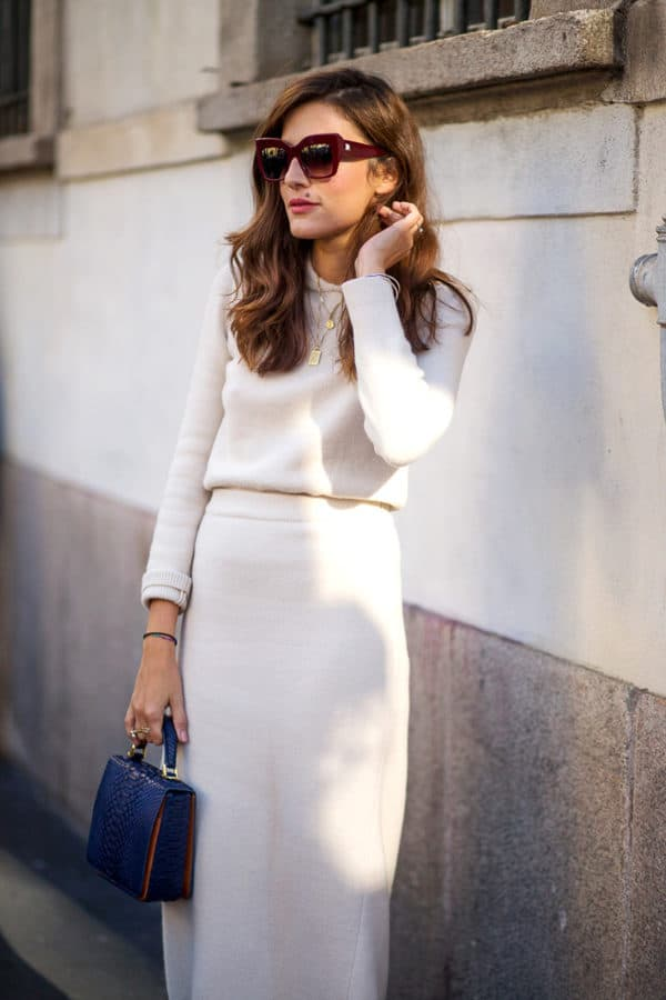 How To Style White Outfits This Winter With Ease