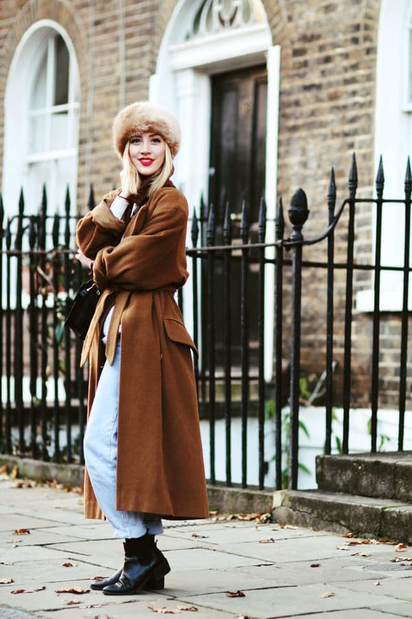 Majestic Ways To Style A Fur Hat This Winter