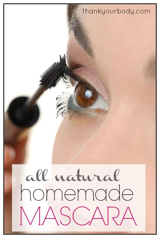 How To Make Your Own Mascara At Home