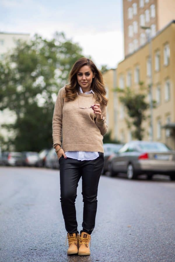 How To Style Your Yellow Timberland Boots In Some Fantastic Ways This Winter