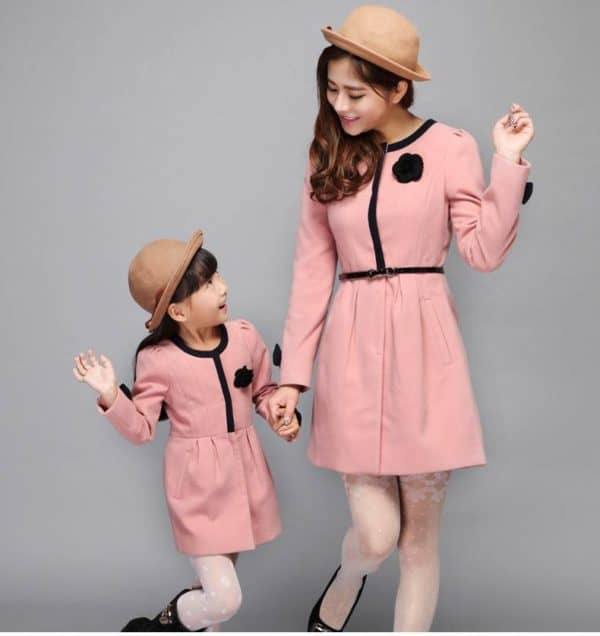 stunning mother and daughter matching outfits that are