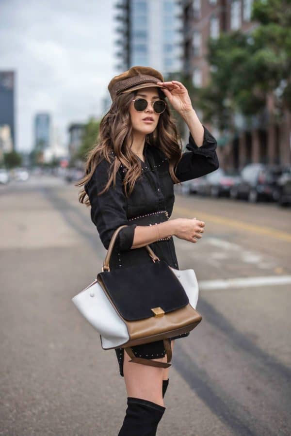 Trendy Ways To Incorporate Newsboy Cap In Your Winter Outfit