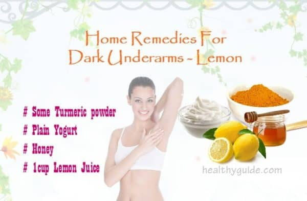 How To Lighten Dark Underarms With These Homemade Remedies