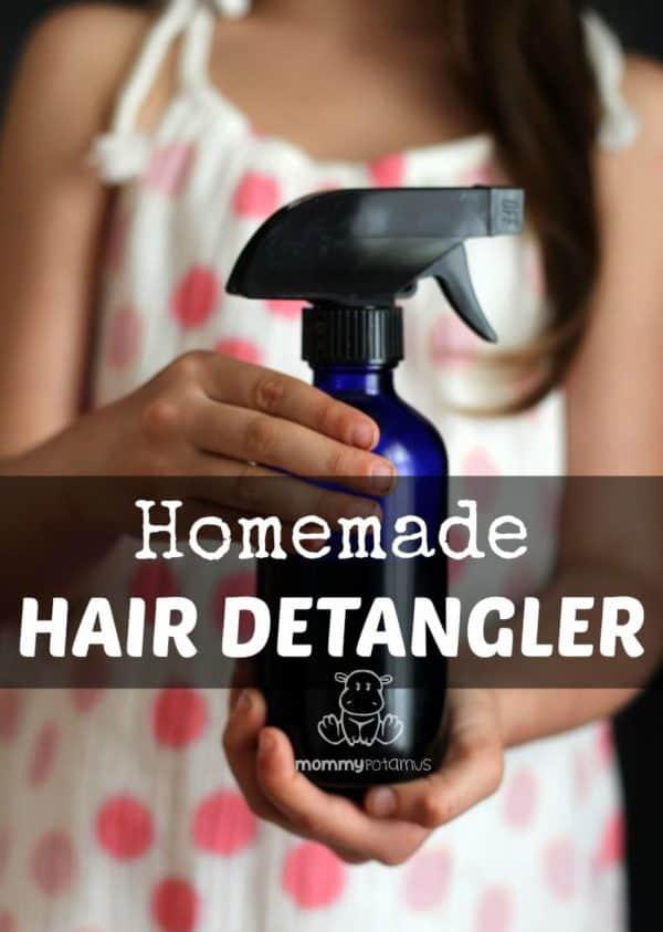 Amazing Hair Detangler Spray Recipes That Will Make Combing Easy