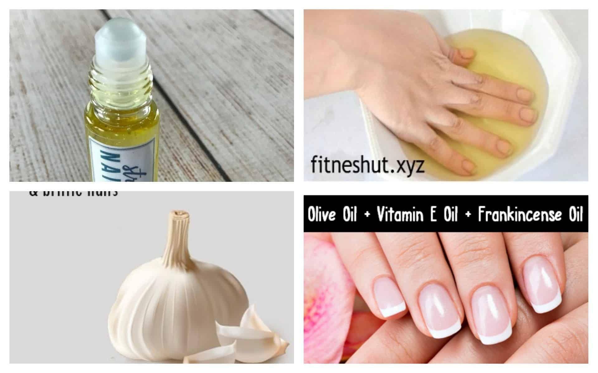 Great Homemade Remedies To Strengthen Your Nails