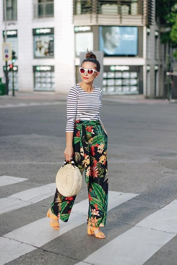 Stylish And Memorable Patterned Pants Outfits That You Would Love To Copy
