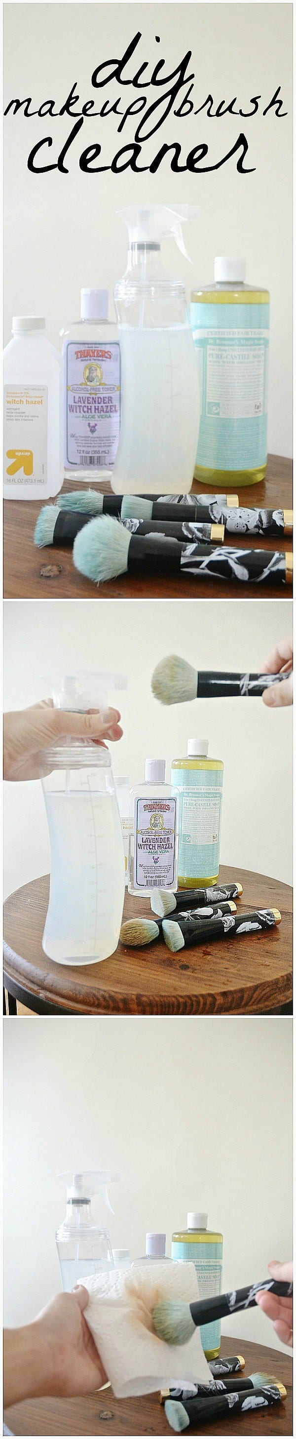 Awesome Homemade Brush Cleaners That You Should Try Now