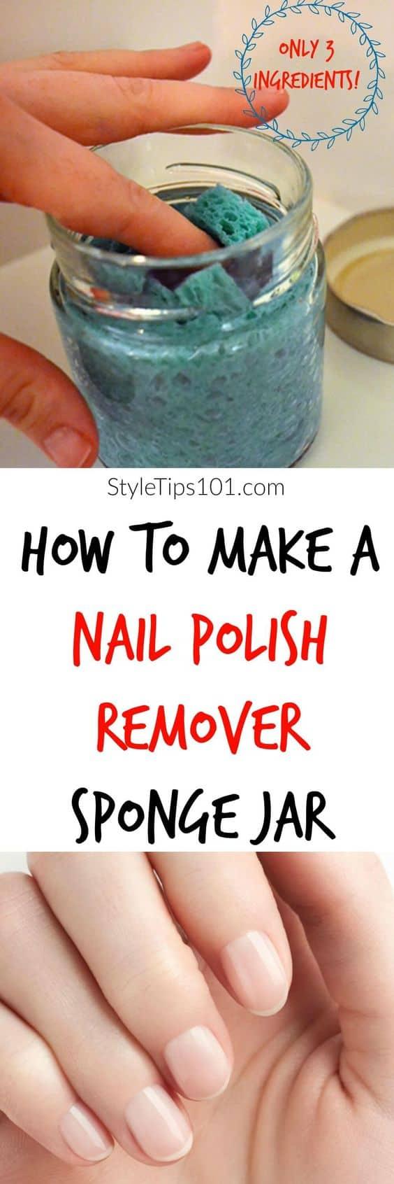 Easy To Make DIY Nail Polish Remover Ideas