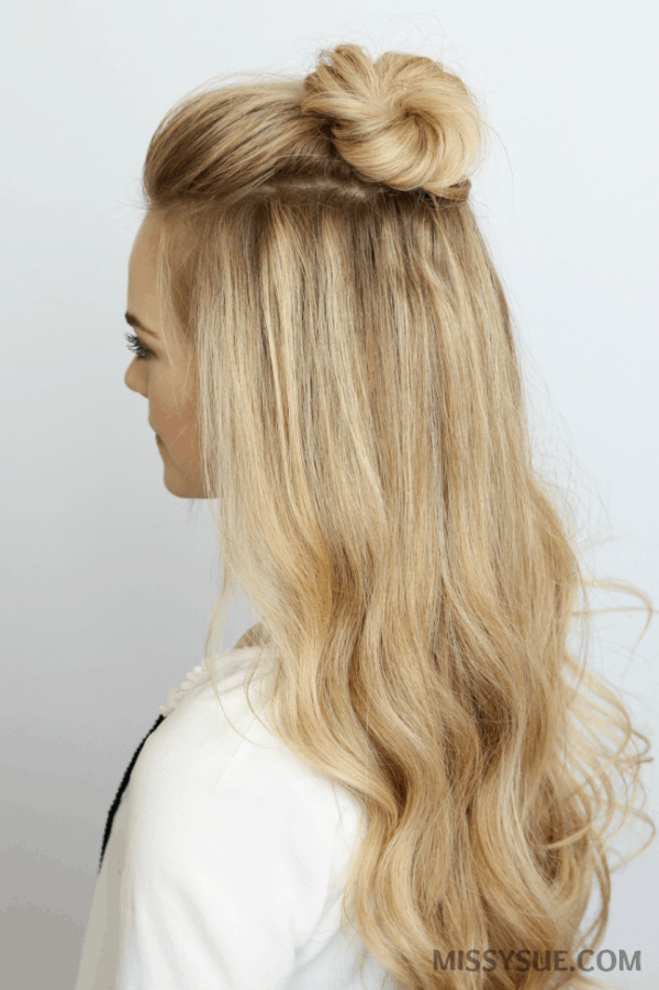 Gorgeous Bun Hairstyles In Every Possible Way