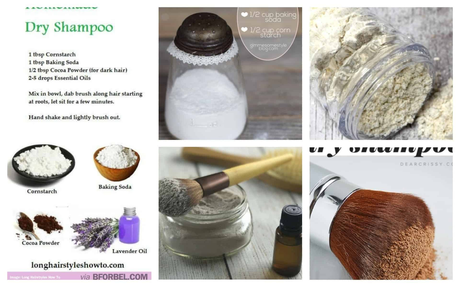 amazing diy dry shampoo that will get your ready in a minute