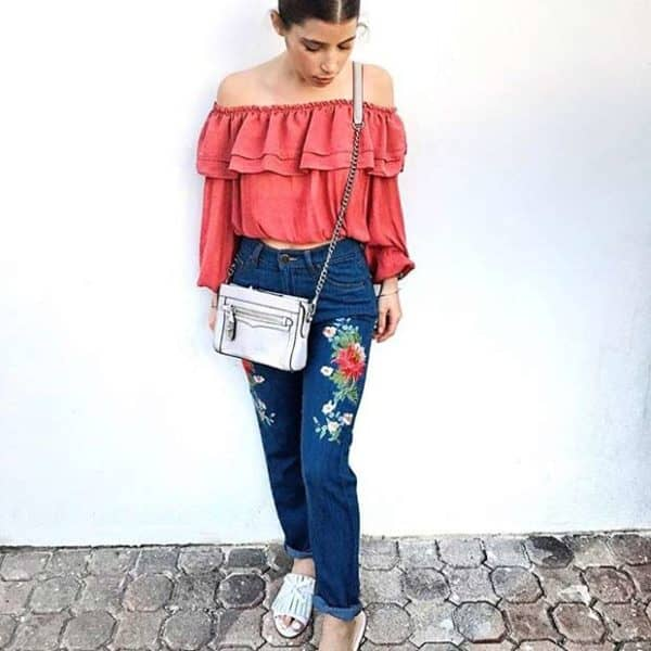 Eleven Ways To Wear Embroidery And Look Chic