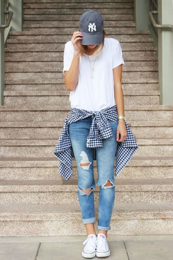 How To Style Your Plain T Shirt In Some Extraordinary Ways This Spring