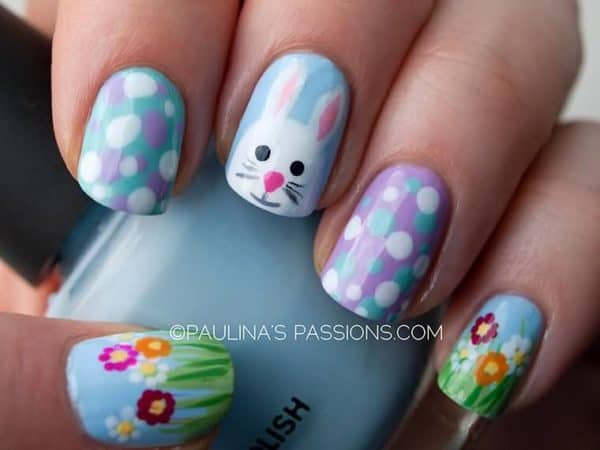 Adorable Easter Bunny Nail Designs That You Should Copy Now