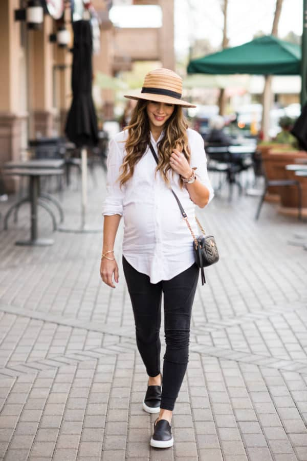 Spring Maternity Outfits That Prove That You Can Look Stylish In Pregnancy