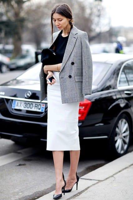 Ten Ways To Style Plaid Blazer