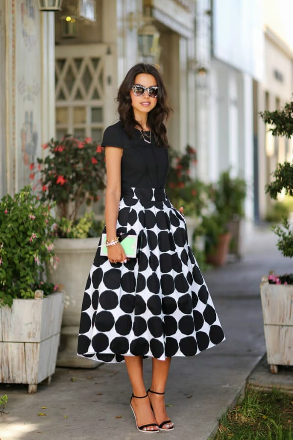 Remarkable Polka Dots Outfits That Will Give You A Retro Vibe