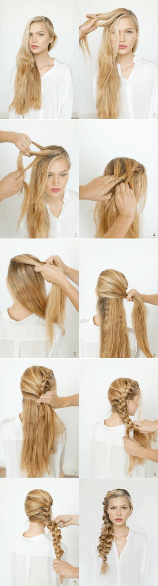Schnell und einfach Frisur Tutorials für die Zeiten, die Sie zu beschäftigt sind, einen Friseur zu besuchen
