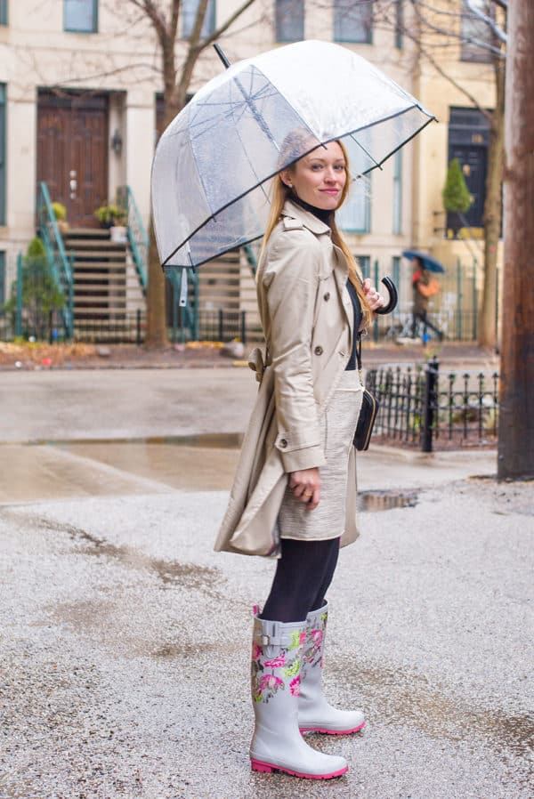 Rain Boots With Buckles