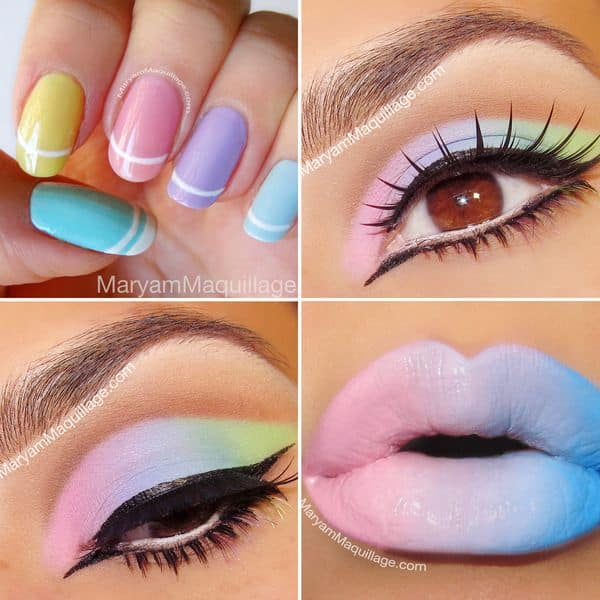 Pastel Makeup Ideas That You Can Try This Easter