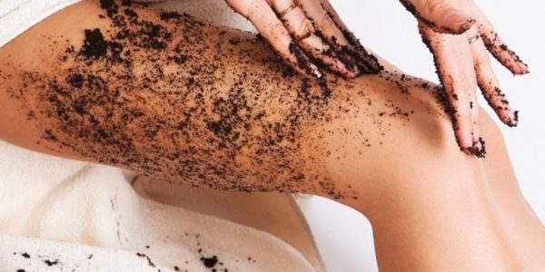 Homemade Anti Cellulite Coffee Scrubs
