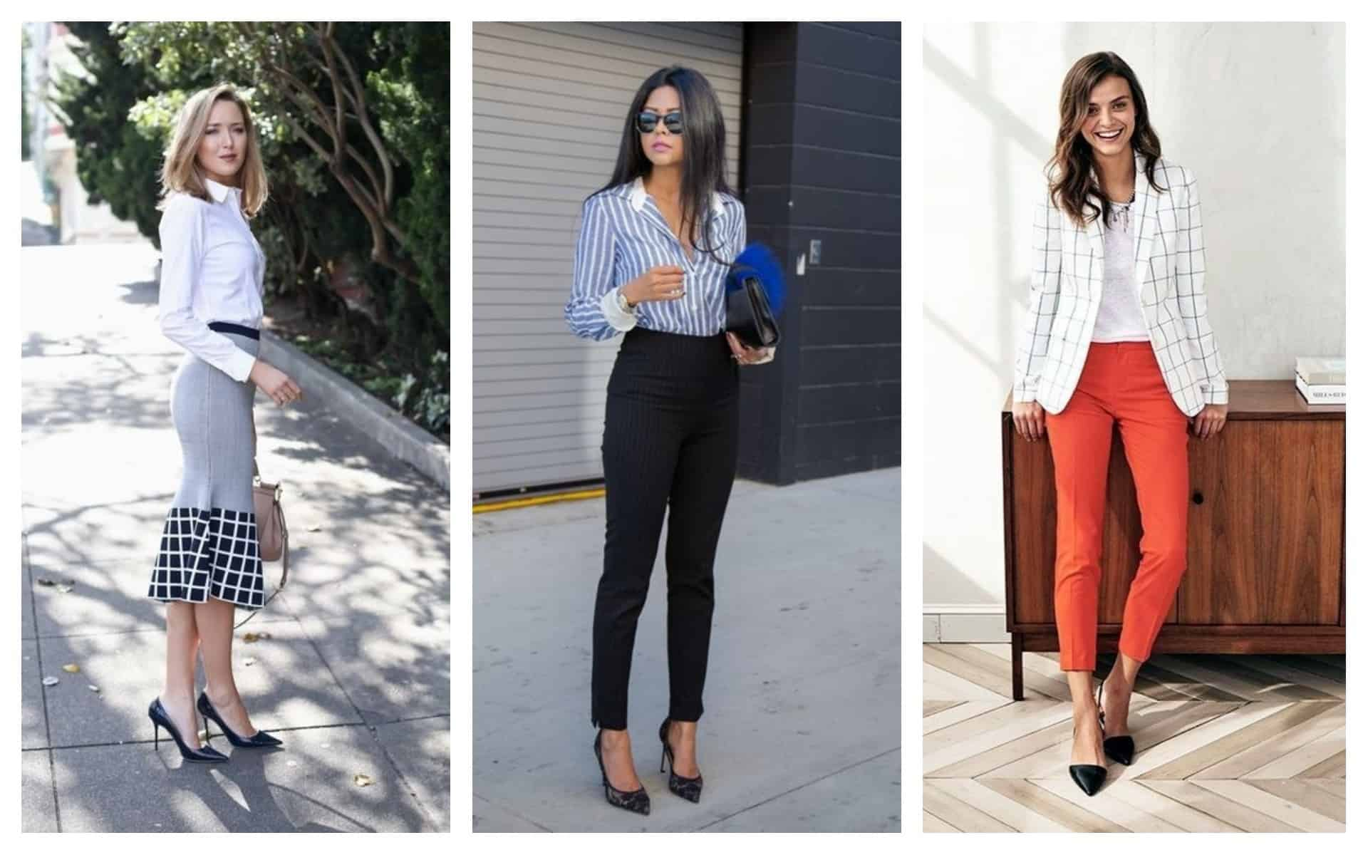 how the modern women dress for a job interview in