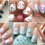 Fancy Marble Nails That Girls Are Going Crazy About