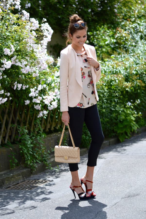 How To Combine Your Blazer In Your Stylish Spring Outfits